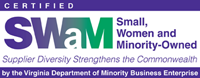 Small, Women and Minority-Owned Logo